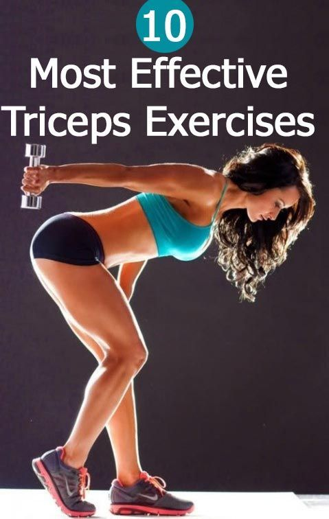 Workout: 10 Triceps exercises #arms #tone #fit #workout