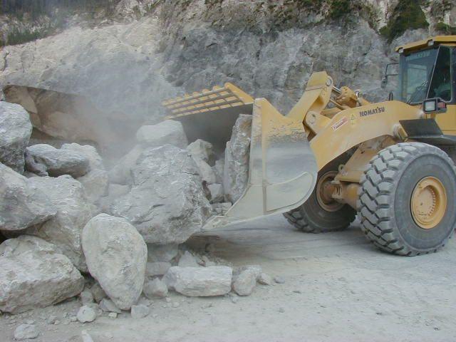 SCAPOL; łyżki do ładowarek skalne