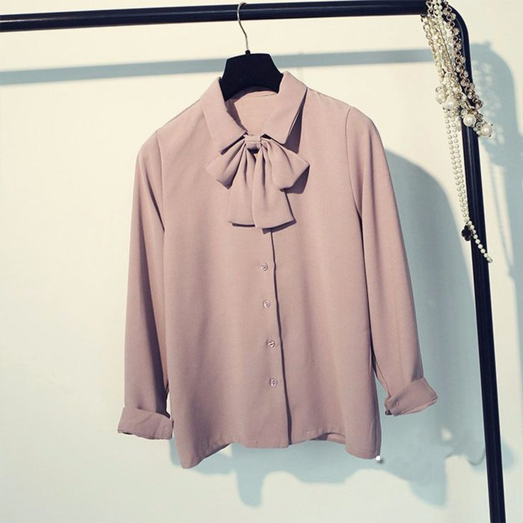 It is so cheap and looks so nice.I wonder if I should buy it! – Find The Prefect Blouses for You At CuteWe Online Clothing Site, We offer Cheap Women Elegant Bow Collar Chiffon Solid Blouse Causal Office Shirt Tops from only US$15.05 ,Free Shipping & Money Back Guarantee!Wholesale Price, Big discounts are waiting for you, never miss!