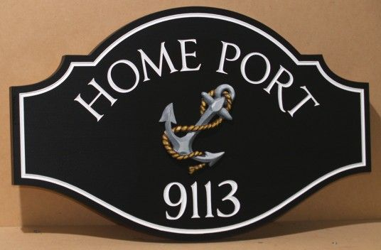 Home Port House Sign