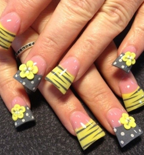 Best 20+ 3d Flower Nails Ideas On Pinterest