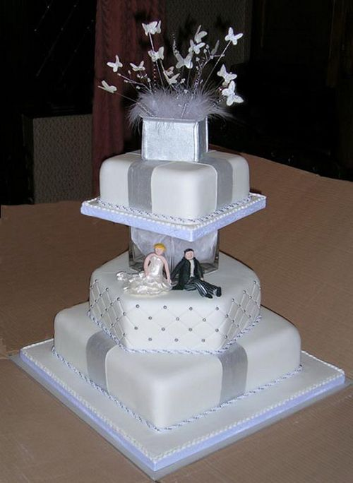 white and silver square wedding cakes 11 best images about the newest gorgeous silver wedding 27225