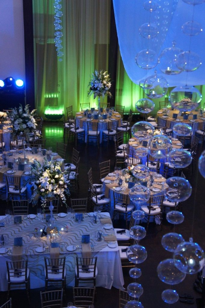 Prom Dinner Party Ideas Part - 26: Underwater Theme :: Denver Art Museum :: Underwater ThemeGala DinnerArt  MuseumProm ThemesTheme ...