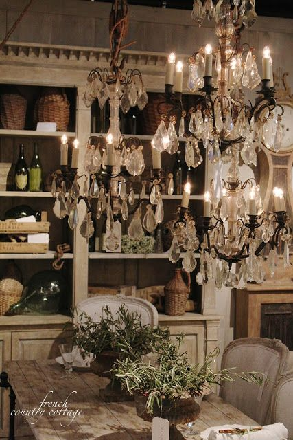 FRENCH COUNTRY COTTAGE: Shopping Vintage Inspiration