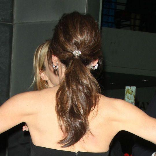The Back of Jennifer Garner's Hair