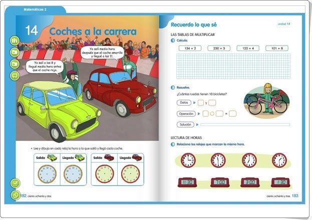 """Unidad 14 de Matemáticas de 2º de Primaria: """"La tabla del 9"""""""