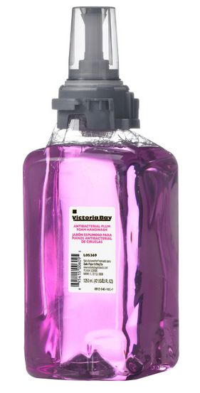 HAND SOAP REFILL 1250 ML VICTORIA BAY - PLUM (3 PACK or single unit)