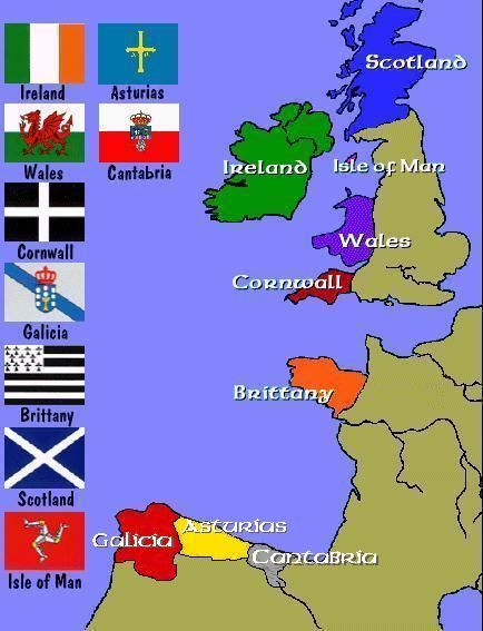 Celtic:  Eight #Celtic Nations.