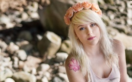 Tattoos Girl hd wallpapers free download for background of desktop laptop ipad led and lcd.