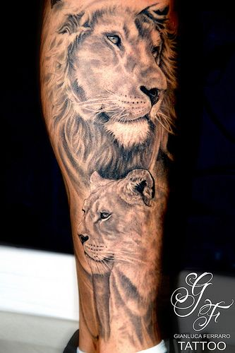 Lion Tattoo | Flickr - Photo Sharing!