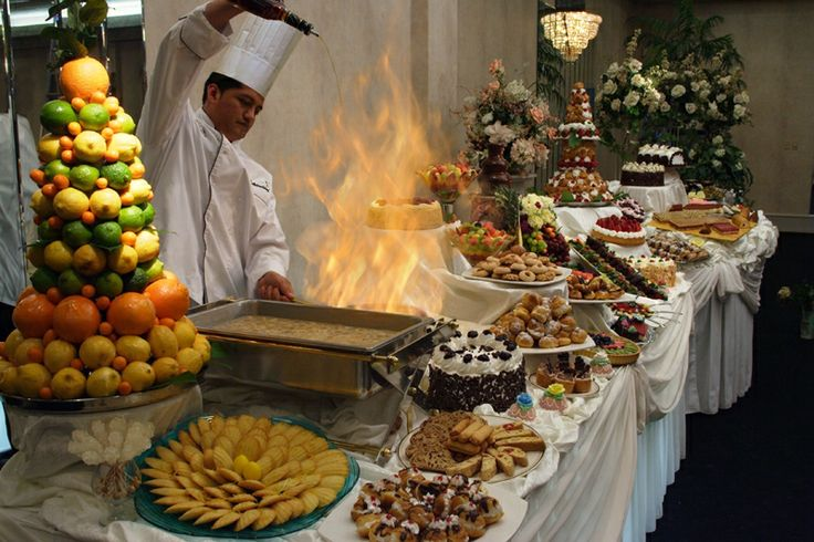 Wedding Sweet Tables Dessert Station Themes Tips Fruits: Venetian Hour Viennese Hour Italian Wedding Tradition