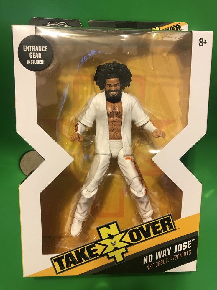 WWE ELITE Target NXT Takeover Exclusive W/ BAF No Way Jose