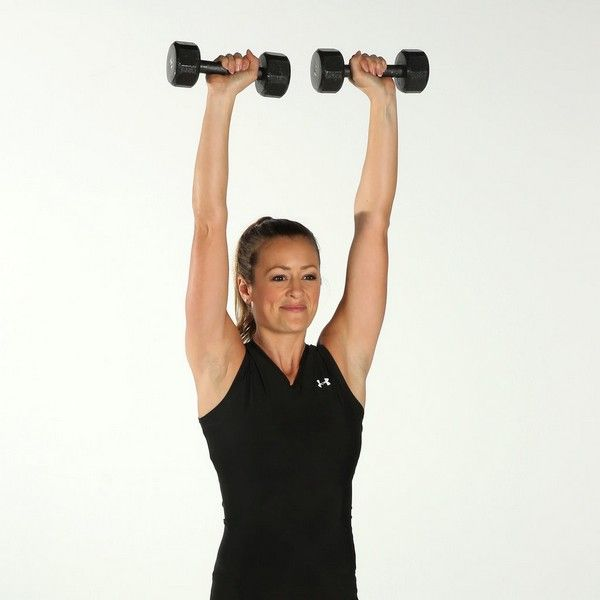 Women Weight Lifting Routine At Home