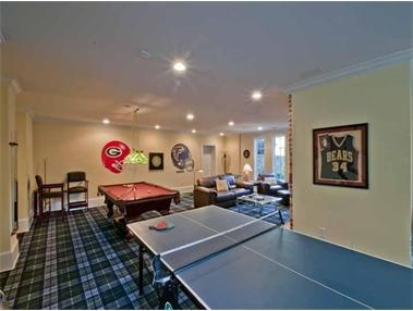 I can 39 t believe how much i like the fratty feel of this - How much space for a ping pong table ...