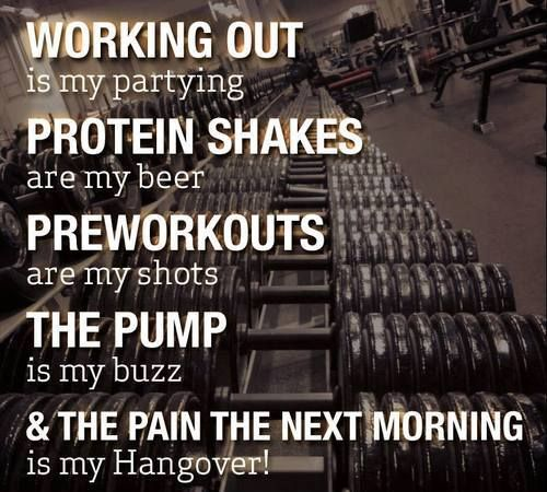 Working Out Vs Partying. Which Do You Prefer? #Fitness