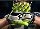 New Nike Vapor Jet Gloves...The Nike Vapor Jet gloves, in Action Green, add a nice finish to the new look.