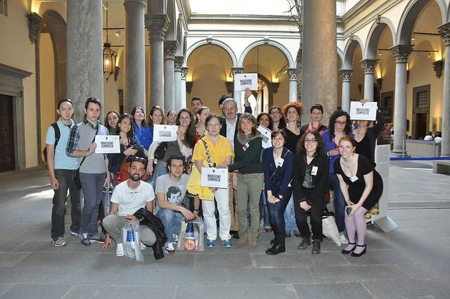 Invasione Digitale a Palazzo Strozzi compiuta!