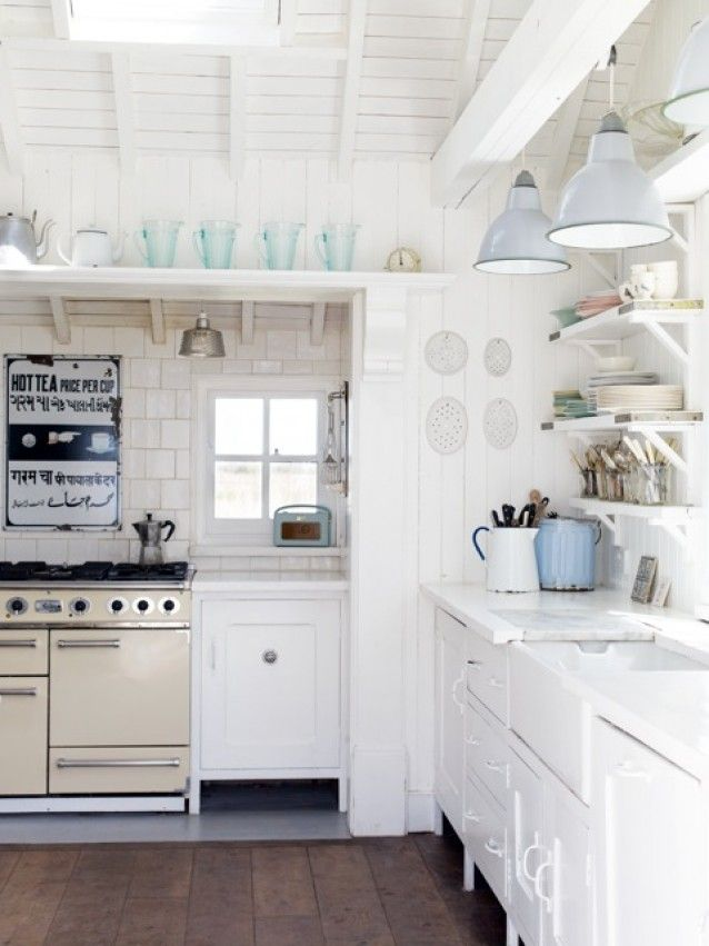 260 Best Beach Cottage Coastal Kitchens Images On Pinterest | Home Ideas,  Kitchen White And Small Kitchens