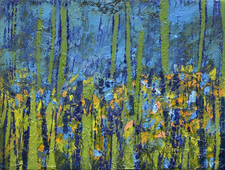 Willie van Rensburg Beyond 1 Oil on canvas (21 x 16cm)