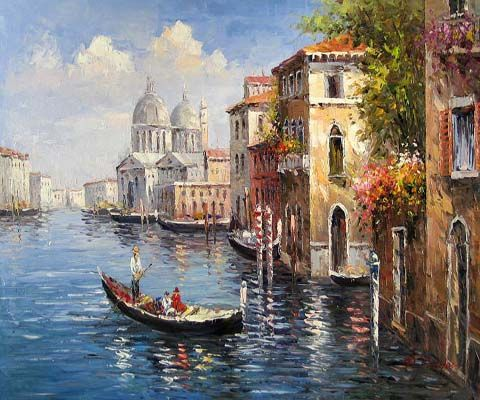 Venice Oil Painting 0025