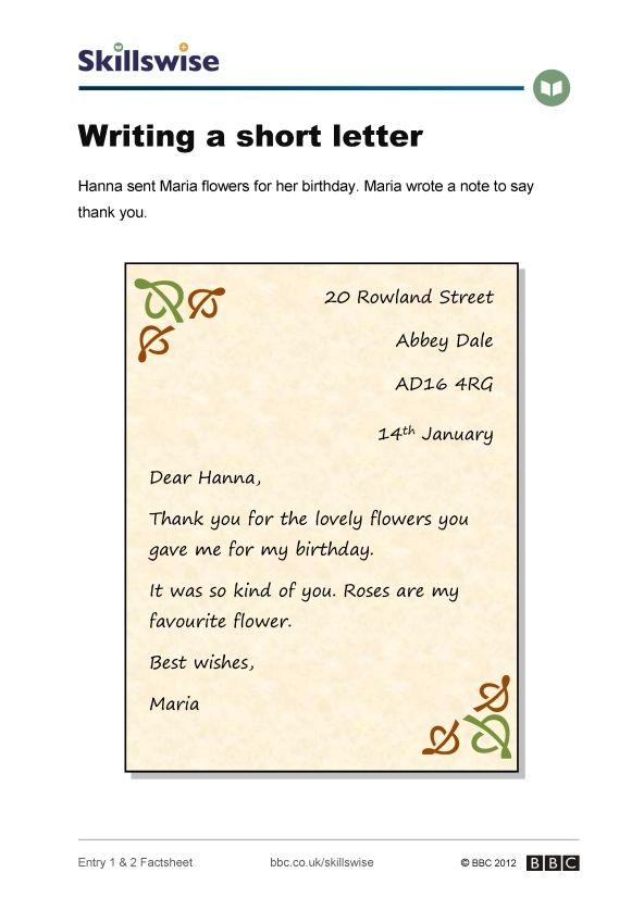 Gênero textual: carta. Ótimo para 6º e 7º anos do Fundamental II.