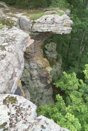 Pedestal Rocks Trail, Ozark National Forest, Arkansas