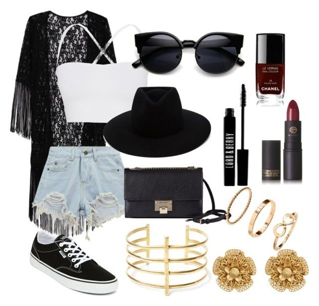 """#31"" by mercedes93 on Polyvore featuring moda, Theory, Chicnova Fashion, Vans, rag & bone, Jimmy Choo, BauXo, Miriam Haskell, Lipstick Queen i Lord & Berry"