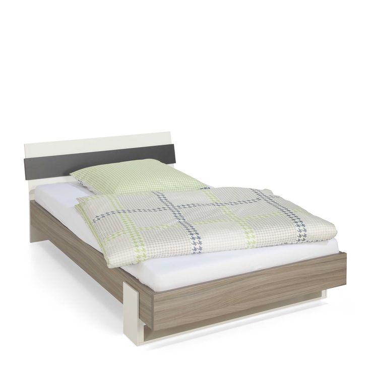 Bett 120 x 200 holzbett doppelbett einzelbett bett flims for Hochbett 120x200