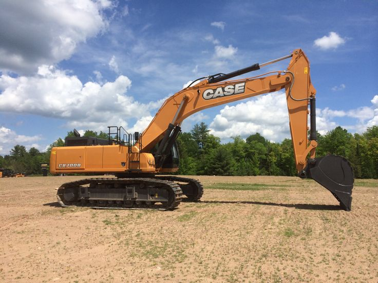 Case cx700b excavator at case customer center tomahawk for Avis e case construction