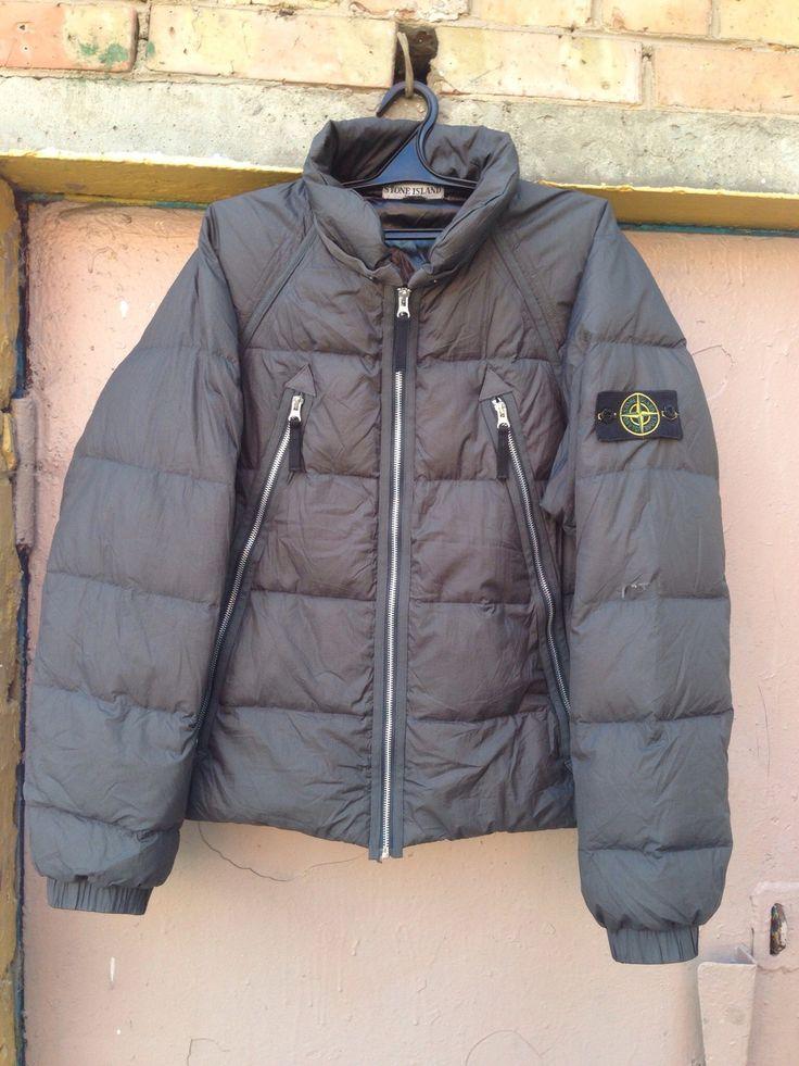 Stone Island Spalmatura Down Jacket Size US XL / EU 56 / 4