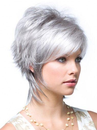10 Best Grey Wigs For Older Women Images On Pinterest