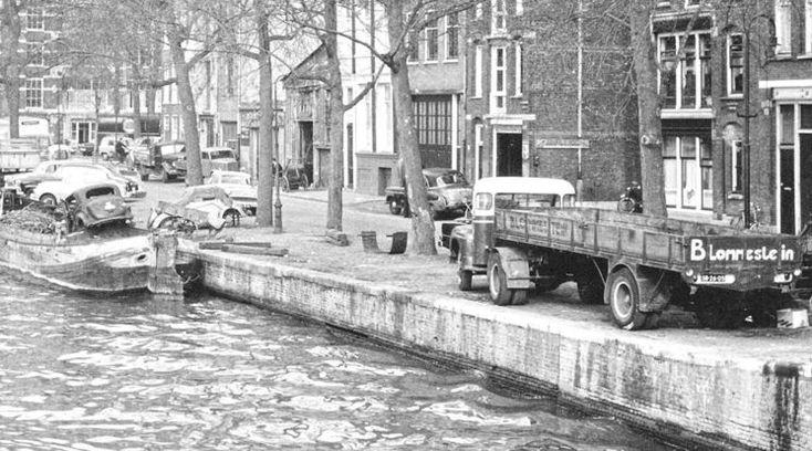 Amsterdam: De Zwanenburgwal - 1959