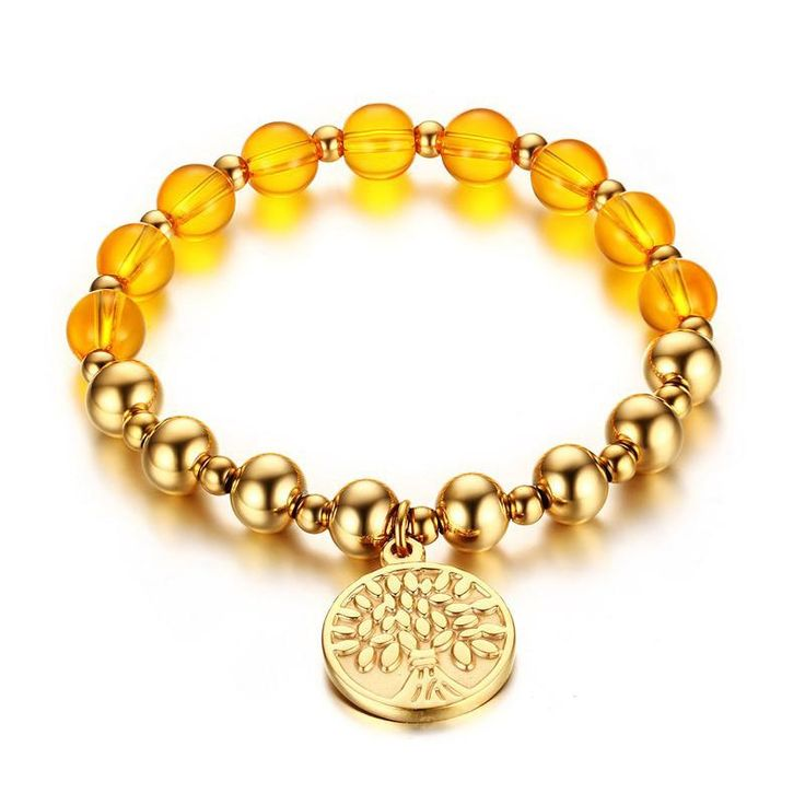 Golden Tree of Life Bracelet