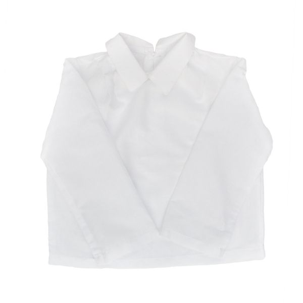 Mákvirág — White pointy collar shirt boys