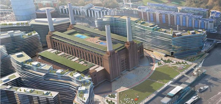#Battersea_Power_Station: la nuova casa di #Apple a #Londra