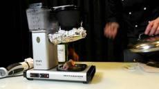 gourmet cooking with coffeemaker