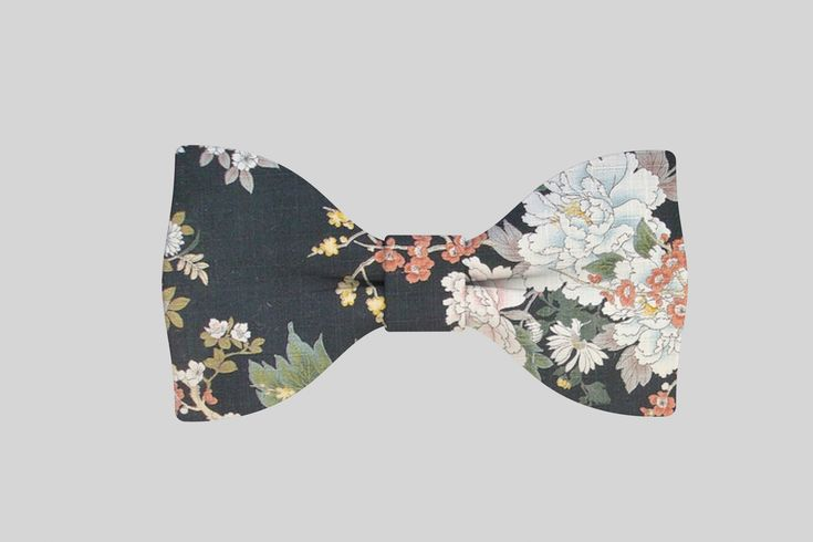 Bow tie, Floral Pattern, Men's Fashion, Accessories http://www.behance.net/gallery/Floral-Bow-Ties/10220955