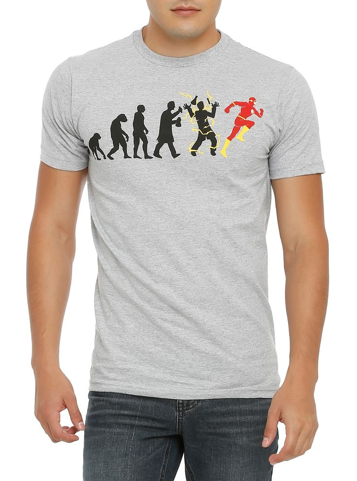 DC Comics The Flash Evolution T-Shirt   Hot Topic