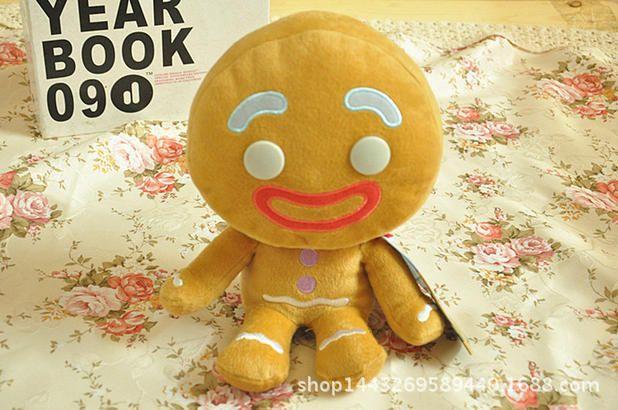 Pelucia Shrek Gingerbread Homem De Gengibre 22cm Plush Stuffed Toys Doll Toy Gift For Children Kids