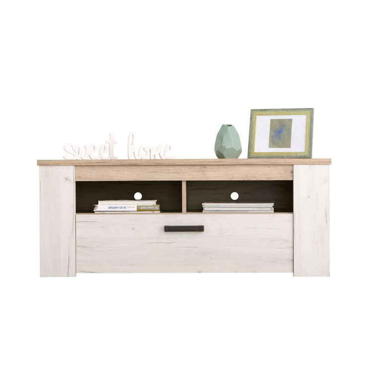 ΕΠΙΠΛΟ TV KENT 120 GREY OAK/WHITE OAK