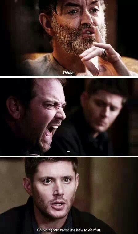 I remember this episode, too. (: Oh, Dean.