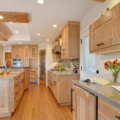 Shaker Birch Cabinets Design Ideas, Pictures, Remodel, and Decor