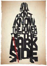 Typographic prints- Return of The Jedi
