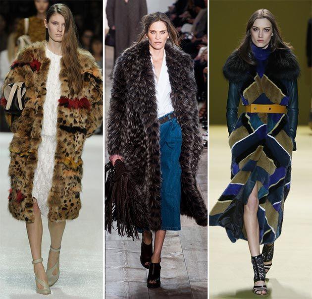 Fall/ Winter 2014-2015 Fashion Trends: Fur Fashion  #fashiontrends #trends #fur