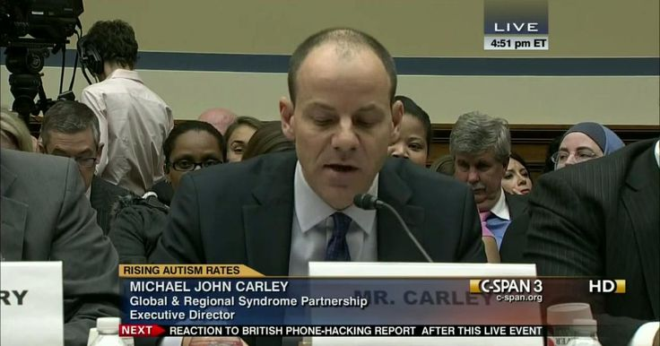 (C-Span) AUTISM Funding is limited for housing, services, education, therapy, employment opportunities (services crisis) for adults with Autism. Parents overwhelmed & can't produce like they used to if their kids can't participate in.      Michael John Carley in 2012 #vaxwithme #vaxxed
