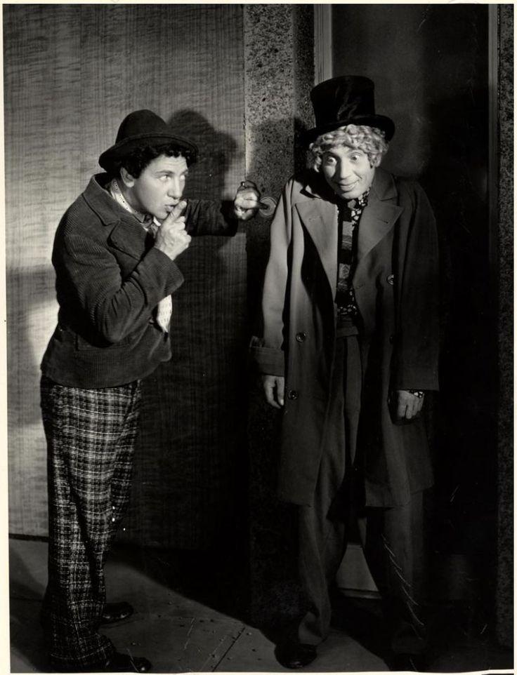 Chico and Harpo Marx in Duck Soup (1933, dir. Leo McCarey)