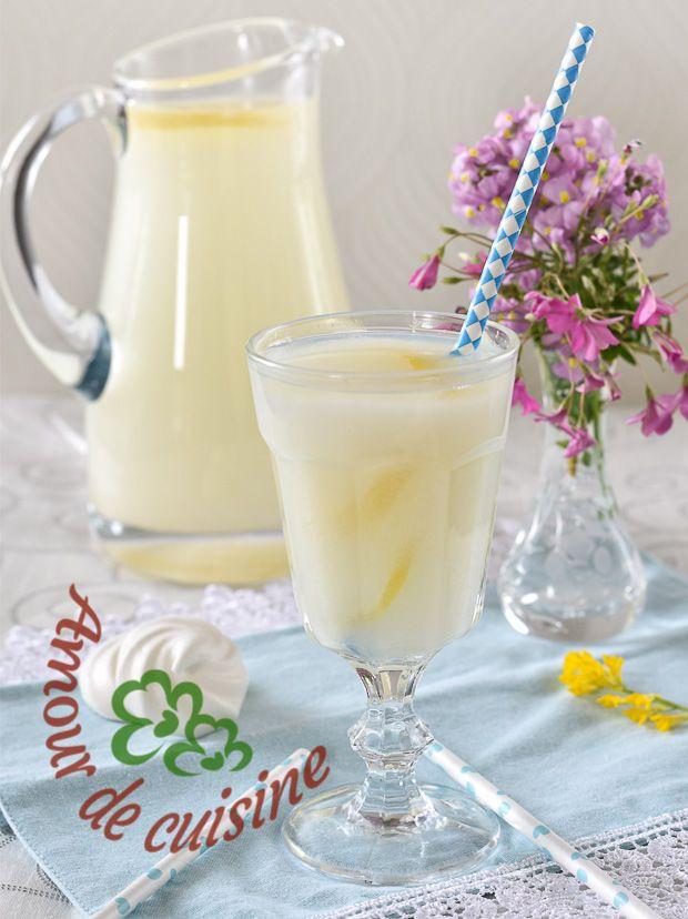 cherbet au citron, limonade algerienne du ramadan - Amour de cuisine