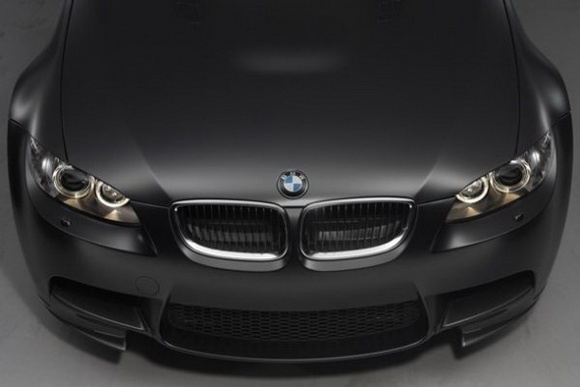 Frozen Black BMW M3
