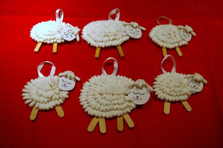Moutons avec Q-tips