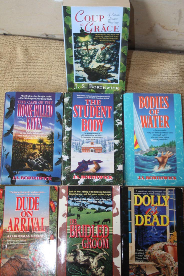 7 J S Borthwick books / J S Borthwick novels by TheKindLady on Etsy